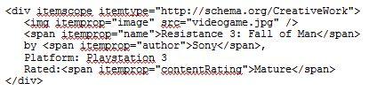 schema-org microdata